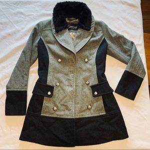 Guess women's used coat.